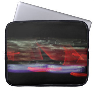 Abstract Photography Speedometer Lights 01 Computer Sleeve