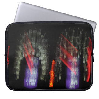 Abstract Photography Speedometer Lights 01 Laptop Sleeve
