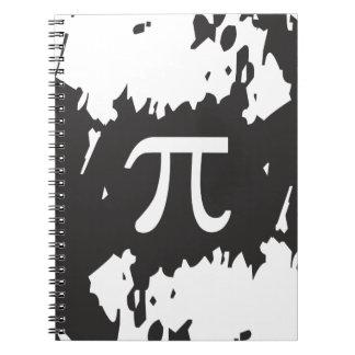 Abstract Pi Symbol Notebooks