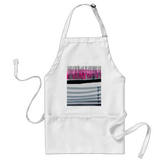 Abstract Piano Adult Apron