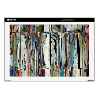 Abstract Piano Keys Decals For Laptops