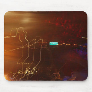 Abstract picture mouse pad