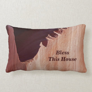 Abstract Pillow Bless This House Southwest Canyon