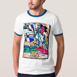 abstract pimp drawing t shirt