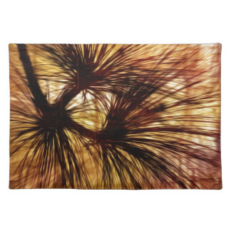 Abstract Pine Needles Placemat