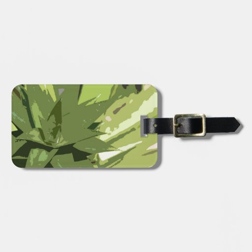 Abstract Pineapples Design Luggage Tags