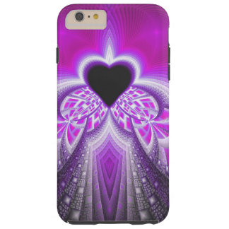 Abstract Pink And Purple Fractal Pattern iPhone 6 Plus Case