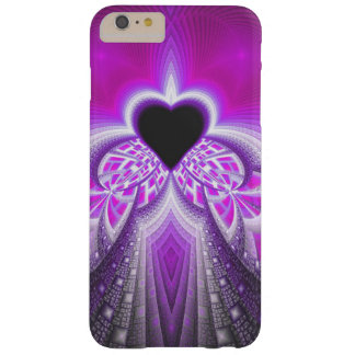 Abstract Pink And Purple Fractal Pattern Barely There iPhone 6 Plus Case
