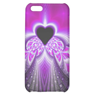Abstract Pink And Purple Fractal Pattern iPhone 5C Cover