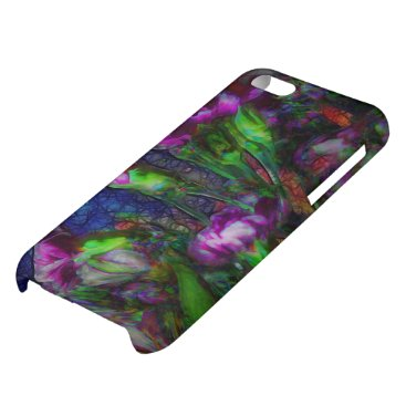 Abstract Pink Carnation Stems Case For iPhone 5C