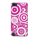 Abstract Pink Circles iPod Touch (5th Generation) Cover