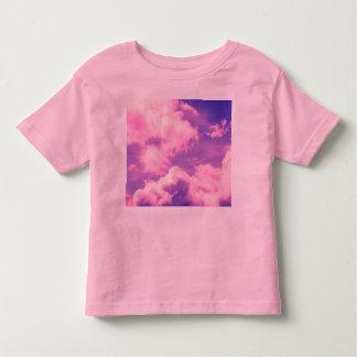 Abstract Pink Nebula Clouds Pattern Toddler T-shirt
