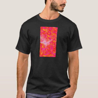 Abstract Pink Nebulla with Galactic Cosmic Cloud 3 T-Shirt