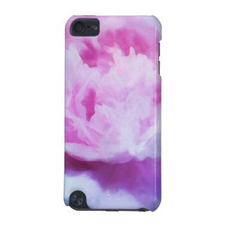 Abstract Pink Peony Painting iPod Touch (5th Generation) Cover