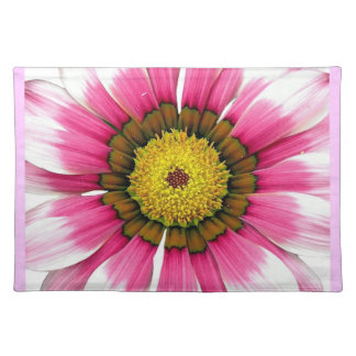 Abstract Pink Sunflower Placemat