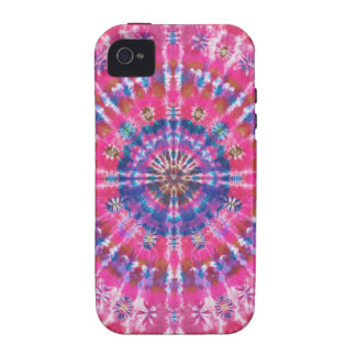Abstract Pink Tie Dye iPhone 4/4S Cover
