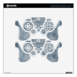 Abstract Pink Yellow lion PS3 Controller Skins