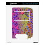 Abstract Pink Yellow lion VTech V.Reader Skins