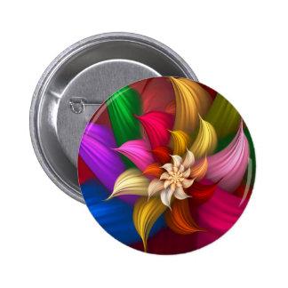 Abstract Pinwheel Pins