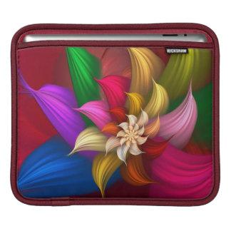 Abstract Pinwheel Sleeves For iPads