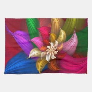 Abstract Pinwheel Towels