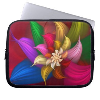 Abstract Pinwheel Laptop Sleeve