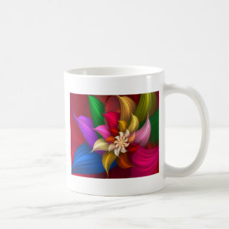 Abstract Pinwheel Coffee Mug