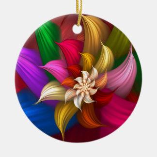 Abstract Pinwheel Ornaments