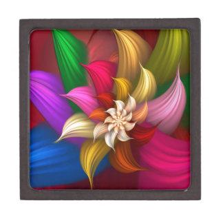 Abstract Pinwheel Premium Trinket Boxes