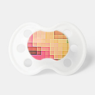 Abstract Pixel Pattern 1 Pacifier