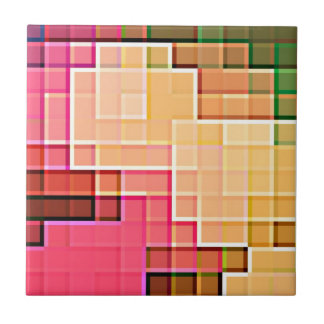 Abstract Pixel Pattern 1 Tiles