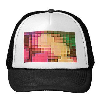 Abstract Pixel Pattern 1 Trucker Hat