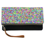 Abstract Pixelated Clutch