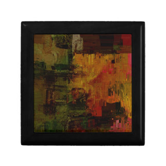 Abstract Pixelated Gift Box