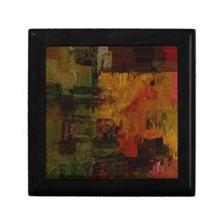 Abstract Pixelated Keepsake Boxes