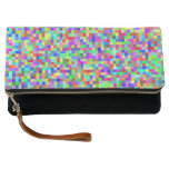 Abstract Pixelated RGB Clutch