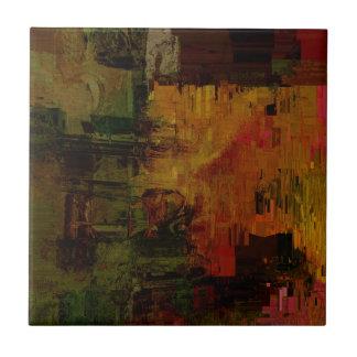 Abstract Pixelated Tile