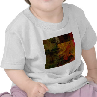 Abstract Pixelated T Shirts
