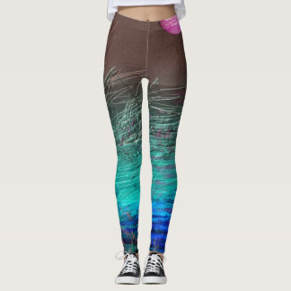 ABSTRACT PLANET LEGGINGS