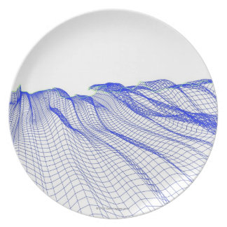 Abstract Plate