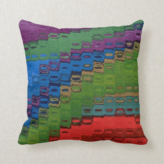 Abstract Playful Color Pillow