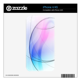 ABSTRACT PLEASANT DECAL FOR THE iPhone 4S