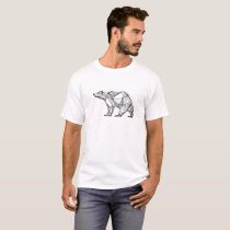 Abstract Polar Bear T-Shirt
