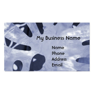 Abstract Polished Steel Design Business Card