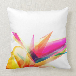 """Abstract Polyester Throw Pillow 20"""" x 20"""""""