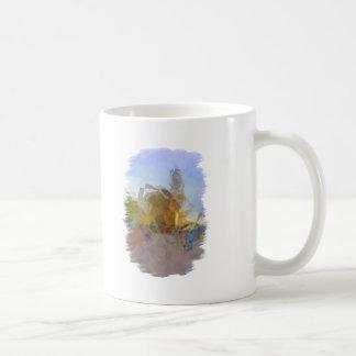 Abstract Polygon Art Classic White Coffee Mug