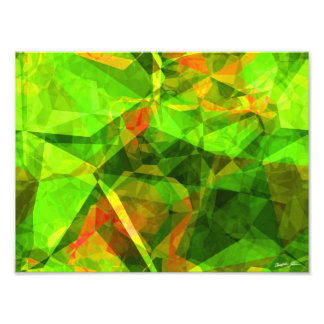 Abstract Polygons 105 Photo Print