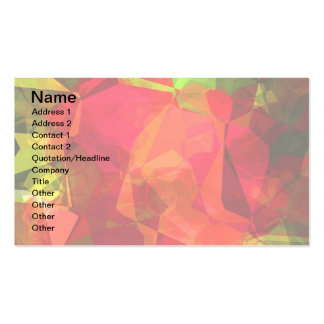 Abstract Polygons 10 Business Card