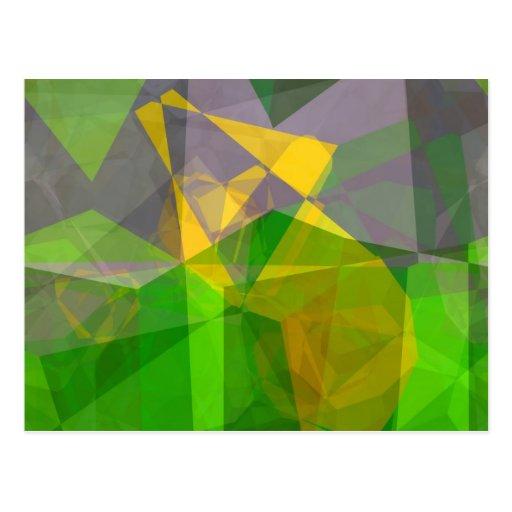 Abstract Polygons 111 Postcard
