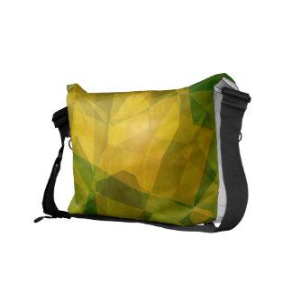 Abstract Polygons 124 Messenger Bag